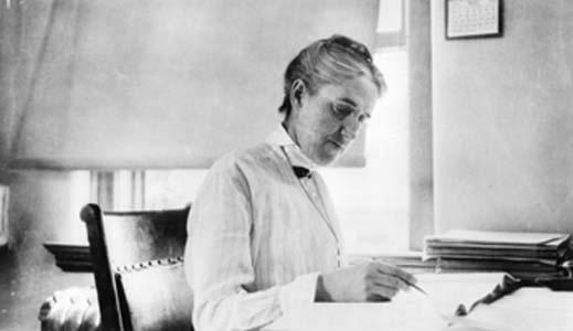 Henrietta Swan Leavitt upptäckte hur universum kunde mätas, men fick aldrig, under sin livstid, något särskilt erkännande för detta.  Bildkälla: Wikimedia commons