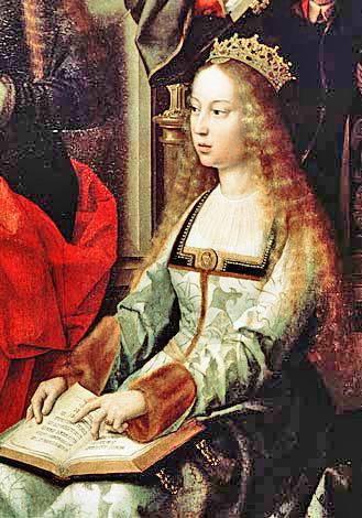 Isabella I av Kastilien. Bildkälla: Wikimedia Commons