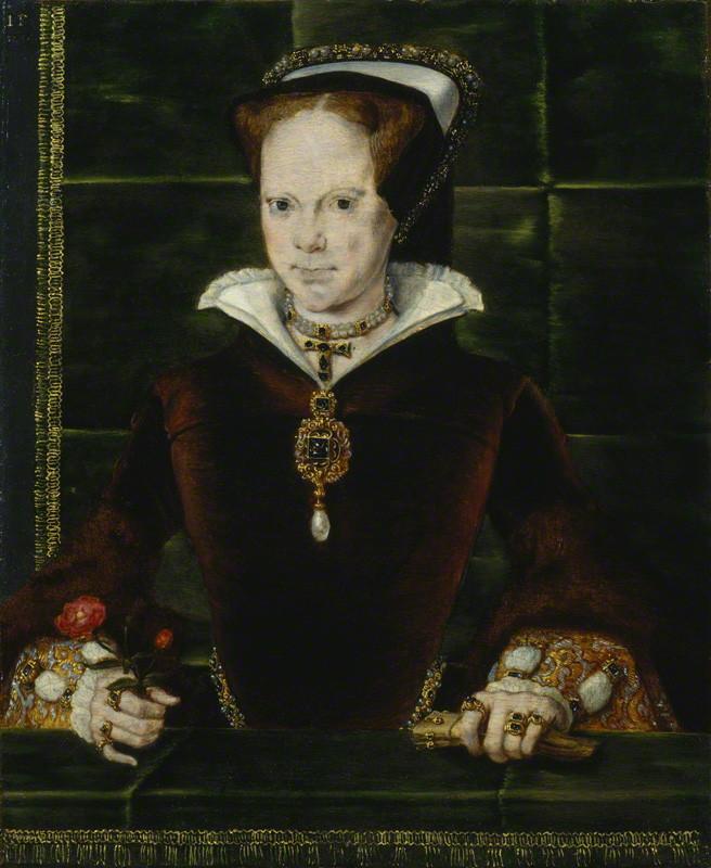 Maria I av England. Bildkälla: Wikimedia Commons