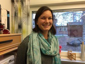 Linda Bergmark, pedagog på Berghemsskolan som jobbat med HUT-veckan